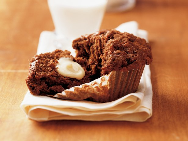 Chocolate Toffee Muffins