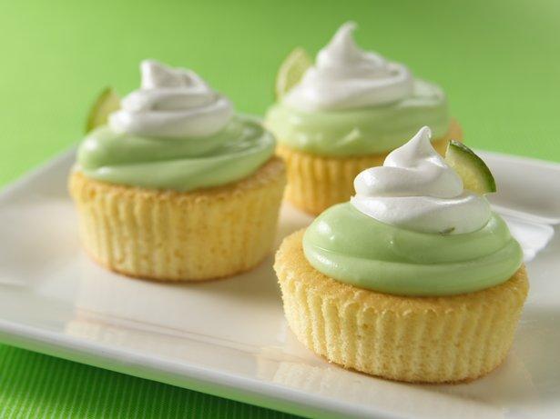 Mini Key Lime Cupcakes recipe from Betty Crocker