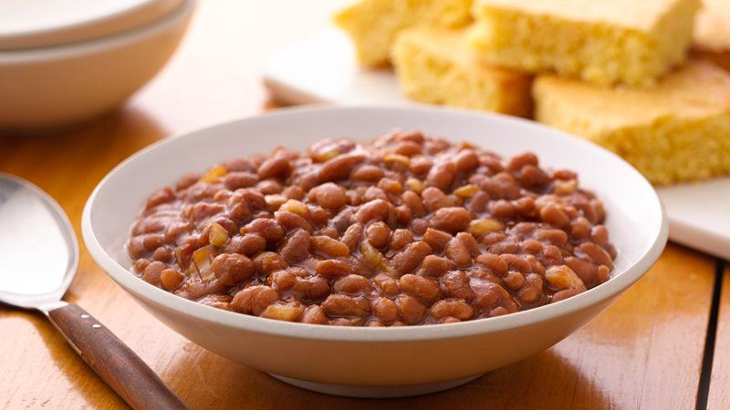 Slow-Cooker Baked Beans recipe from Betty Crocker