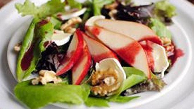 ... blackberry salad8 blackberry apple salad with blackberry vinaigrette