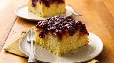 Cranberry-Orange Upside-Down Cake