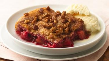 Ruby Raspberry Crescent Cobbler