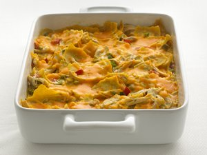 Healthified&#32;Chicken&#32;Tortilla&#32;Casserole