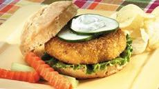 Salmon Burgers with Dill Sauce Recipe