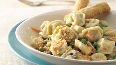Creamy Tortellini Casserole Recipe
