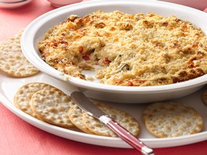 Baked Artichoke and Jalapeño Cheese Spread