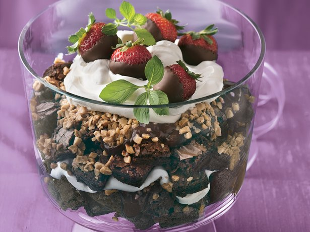 Fudgy Brownie Trifle
