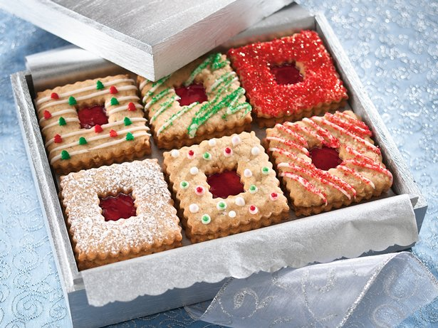 Linzer Sandwich Cookies