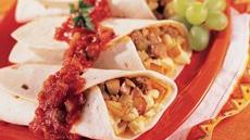 Country Scrambled Breakfast Burritos Recipe