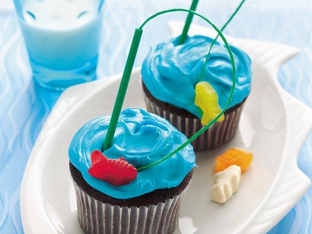 Goin 'Fishin' Cupcakes