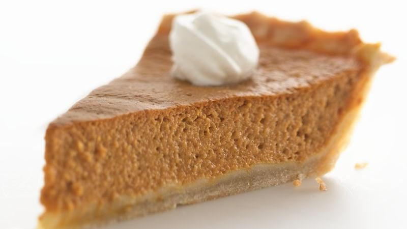 Healthified Pumpkin Pie