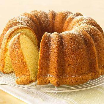 Lemon Velvet Cream Cake recipe from Betty Crocker