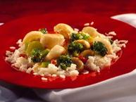 Stir-Fried Scallops with Broccoli