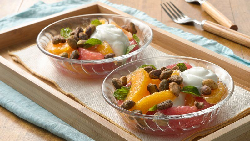 Citrus Yogurt Layered Salad
