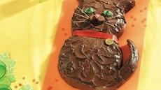 Halloween Kitty Cake Recipe