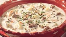 Creamy Wild Rice Soup Recipe
