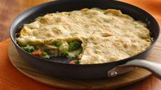 Easy One-Skillet Chunky Chicken Pot Pie Recipe
