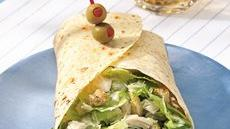 Caesar Chicken Wraps Recipe