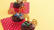 Rudolph Brownie Cupcakes Recipe