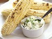 Grilled Corn with Parmesan-Herb Butter