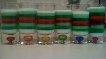 Christmas Version Sparkle Magic Jelly Shots