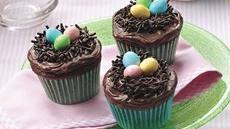 Easter Bird's Nest Cupcakes Recipe