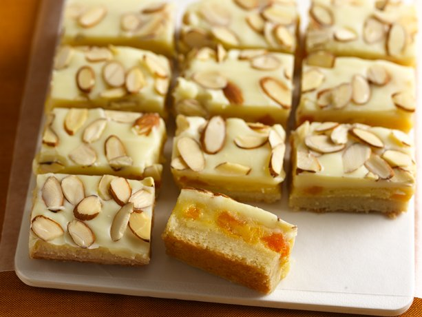 Image of Almond, Apricot And White Chocolate Decadence Bars, Betty Crocker