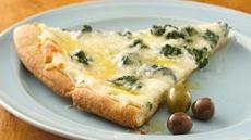 Florentine Pizza with Seasoned Oil Recipe