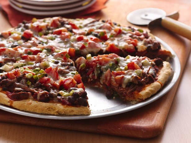 Spicy Beef Pizza Pie