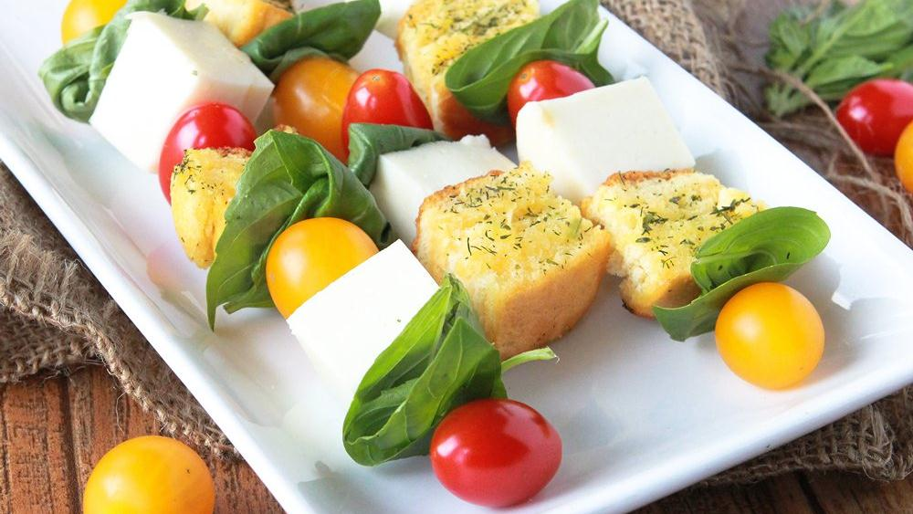 Caprese Salad Skewers recipe from Pillsbury.com