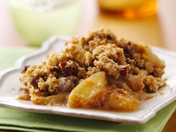 Image of Apple-pecan Crisp, Betty Crocker