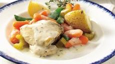 Creamy Herbed Chicken Stew Recipe
