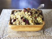 Cranberry Pecan Quinoa