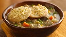 Deep-Dish Turkey Pot Pie Recipe
