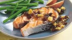 Grilled Salmon with Apricot Chutney Recipe