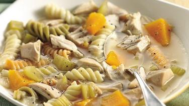 Turkey, Squash and Pasta Soup