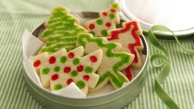 Stained Glass Christmas Cookies