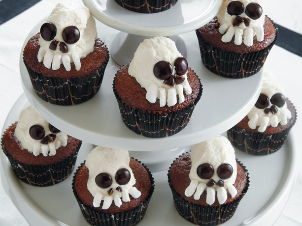 Skeleton Cupcakes