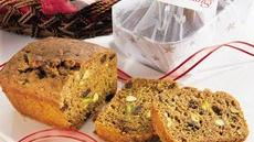 Pumpkin-Rum Pistachio Loaf Recipe