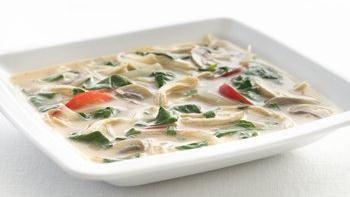 Healthified Thai Chicken Soup