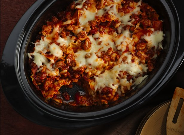 Super Easy Slow Cooker Lasagna