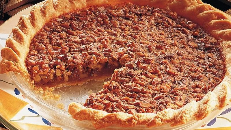 Honey-Walnut Pie recipe from Betty Crocker
