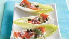 Endive-Salmon Boats Recipe