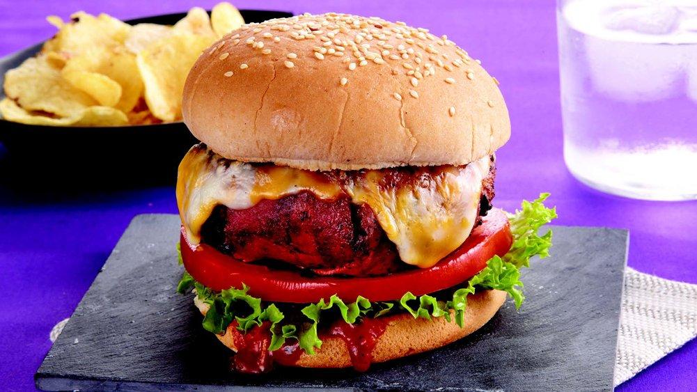 Big Bacon Turkey Burgers