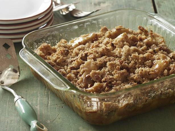 Gluten Free Caramel Apple Crumble