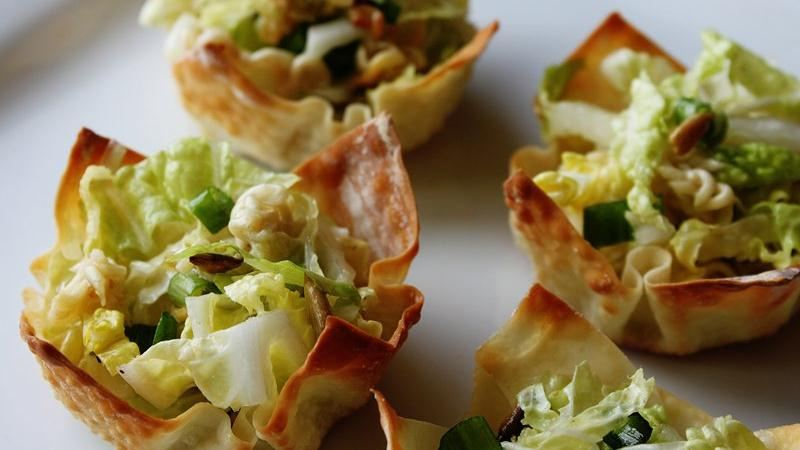 Asian Salad Cups