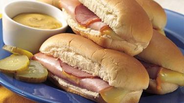 Ham and Cheese Dogs