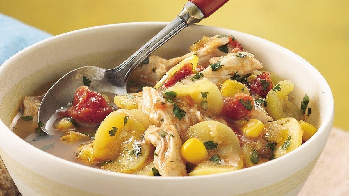 Big-Batch Calabacita Chicken Stew