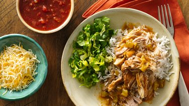 Slow-Cooker Mexican Pork Burrito Bowls