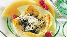Florentine Egg Baskets Recipe